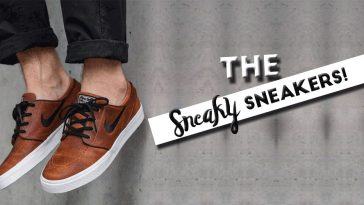 The Sneaky Sneakers!