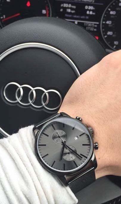 watch for men in audi car