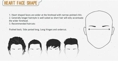 Mens Hairstyle For Heart Shaped Faces Best Fashion Blog For Men