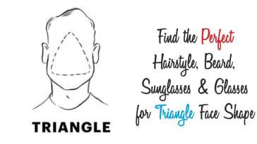 triangle face shape guide