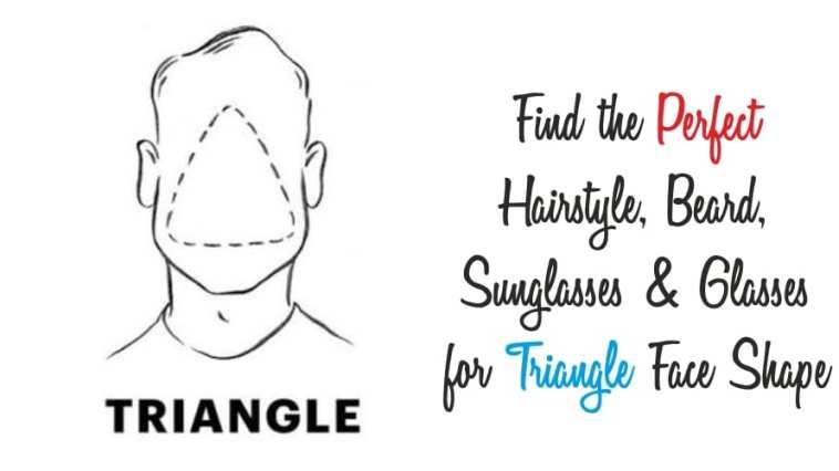 triangle face shape guide