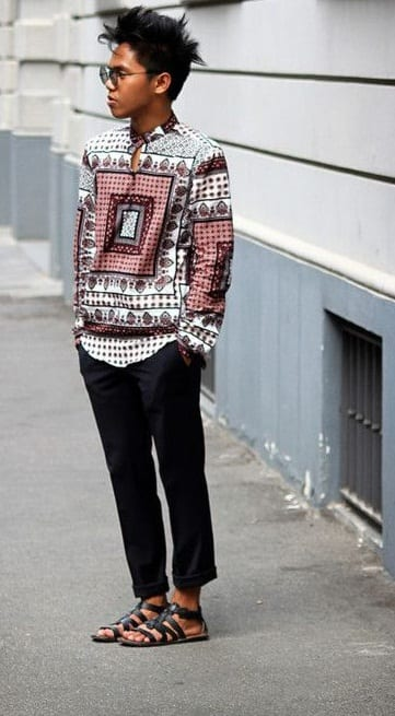 sandal with outfit ⋆ best fashion blog for men