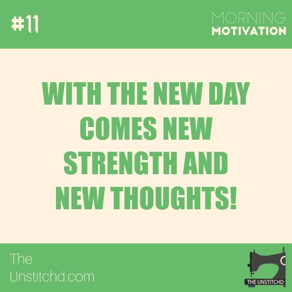 Morning Motivation #11