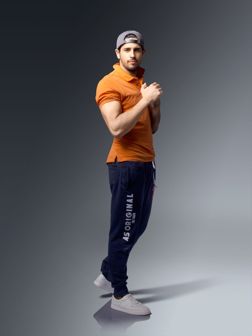 Sidharth's New sports look by American swan