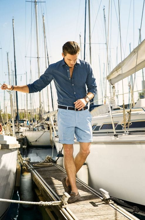 boat wear shorts look