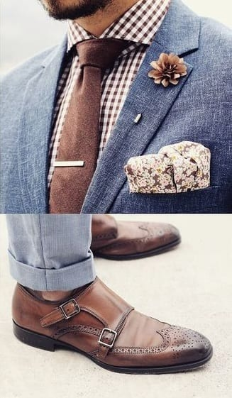 Complete-Outfit-Suit-Monks-Tie-Square-lapel-pin