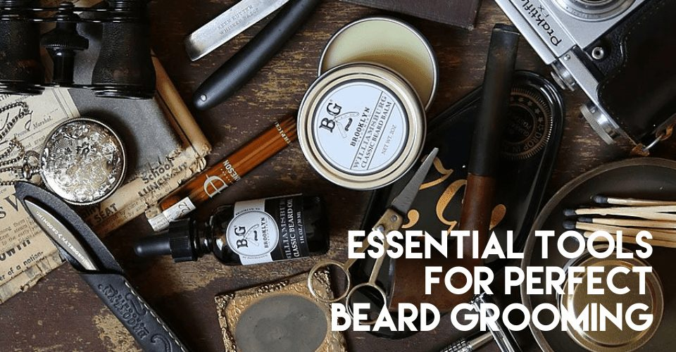 Essential products for perfect beard grooming