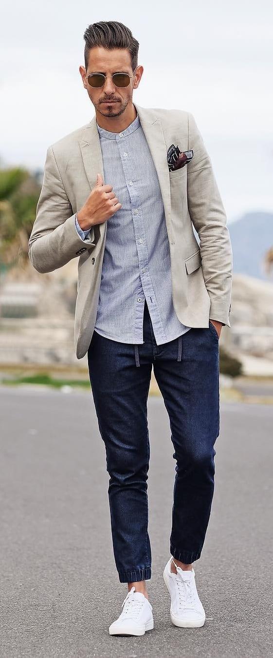 Blazer With Denim Outfit Ideas
