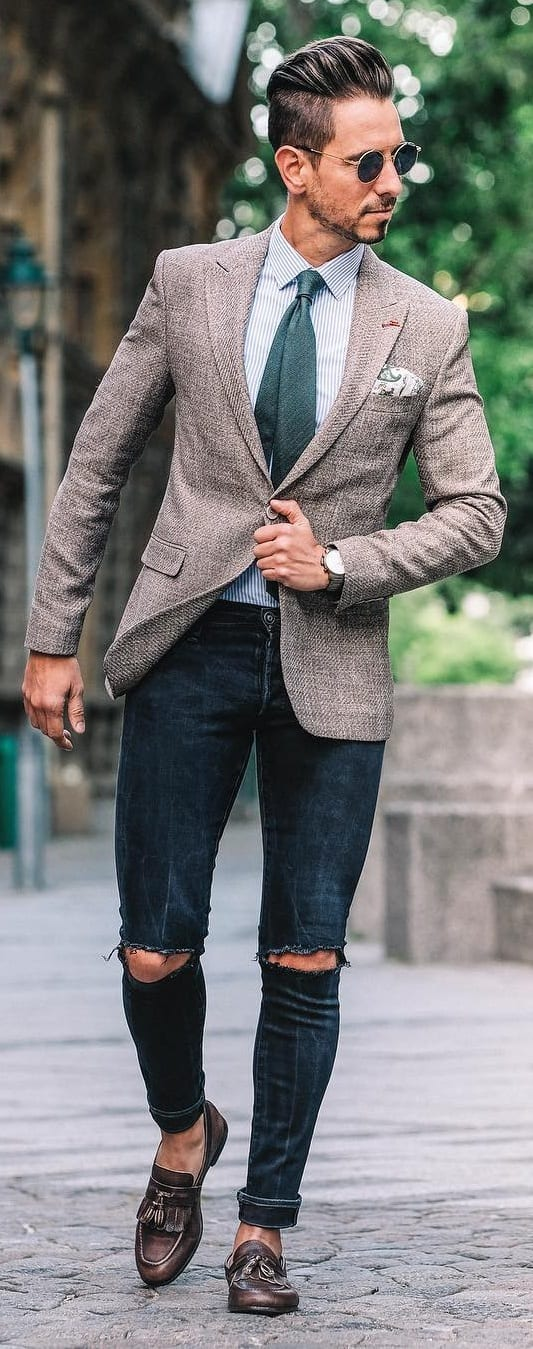 How to Style Suit Jacket