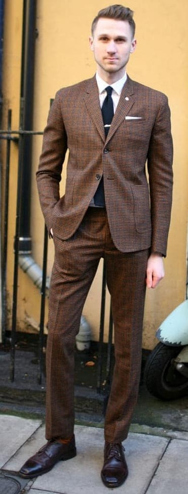 5 Must Have Suits For Men - Brown suits