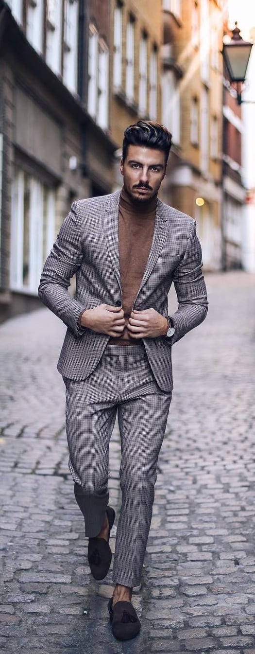 5 Must Have Suits For Men - charcoal grey suits