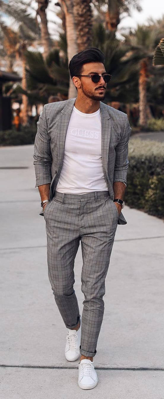 5 Must Have Suits For Men - grey suits