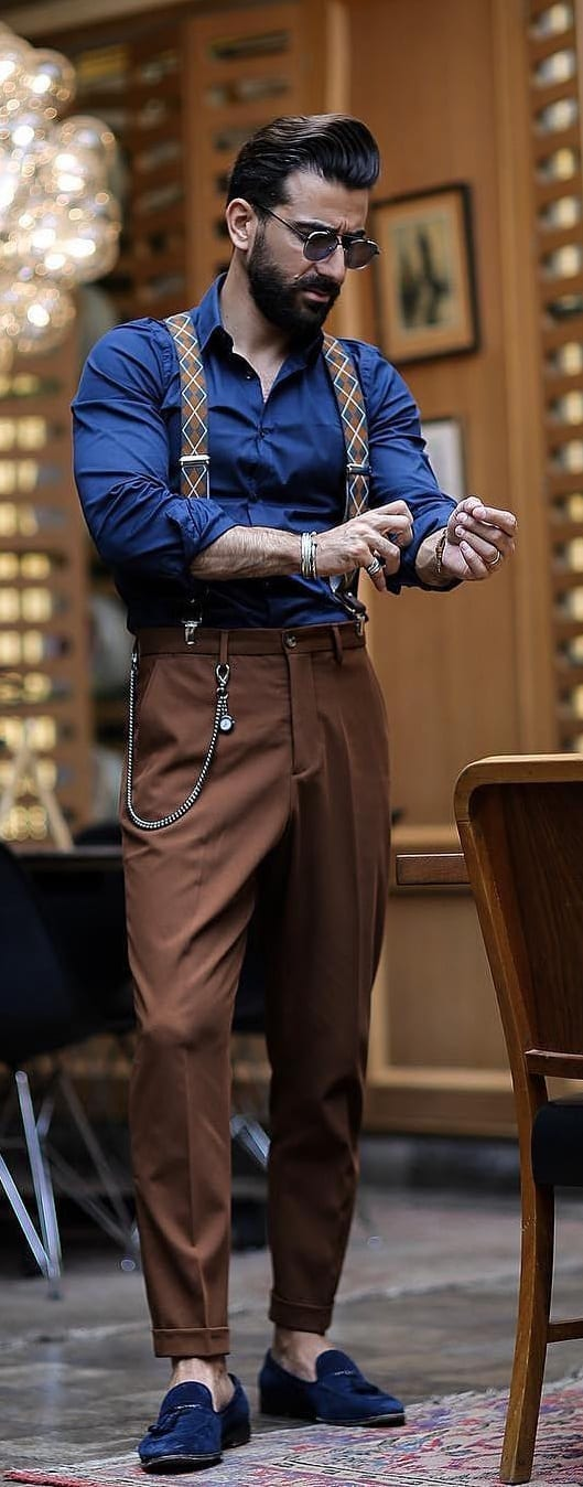 5 Simple Rules of Styling Suspenders