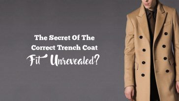 Mens Trenchcoat Fitting Guide
