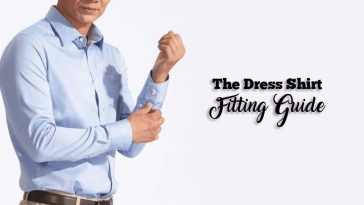 The dress shirt fit for men