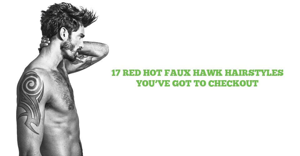 red hot faux hawk hairstyles