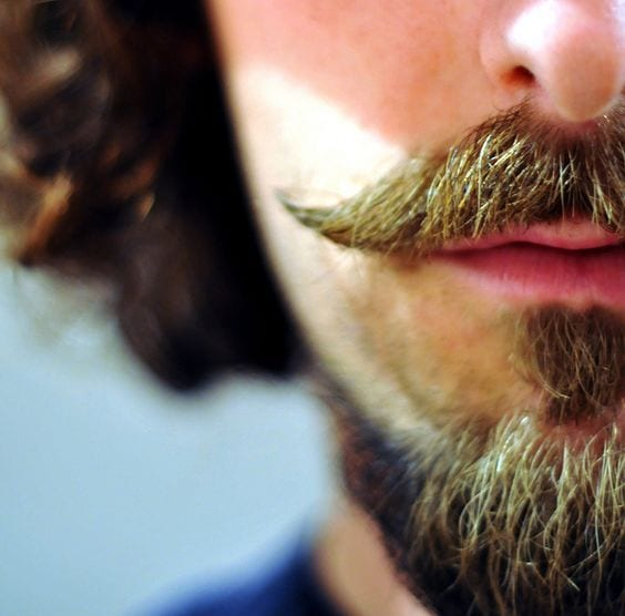 The Ultimate Style Statement Handlebar Moustache With A