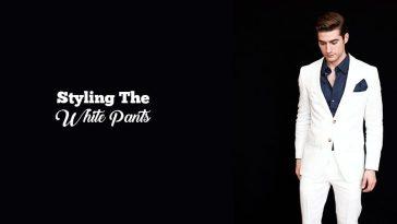 styling white pants