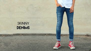 trendy skinny denims