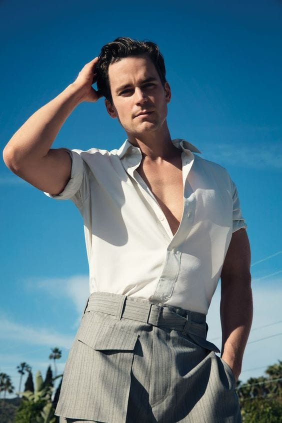 matt bomer perfect hairstyle