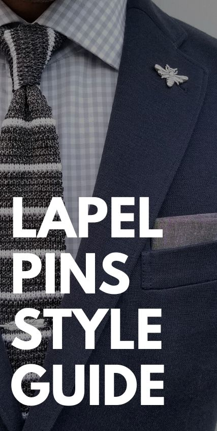 Lapel Pins Style Guide