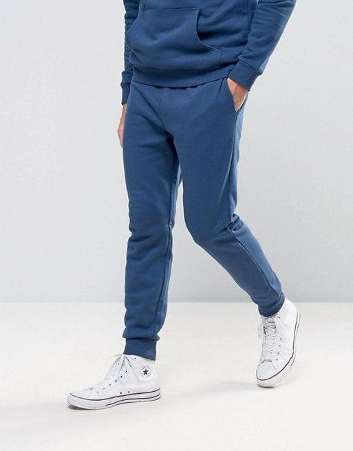 blue joggers for men
