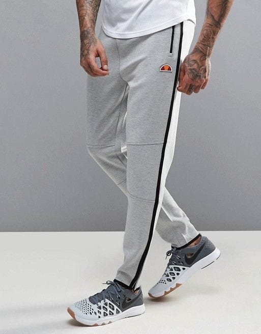 grey joggers for men