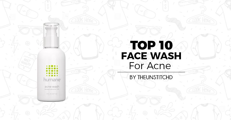 Top 10 Best Face Wash For acne for Men