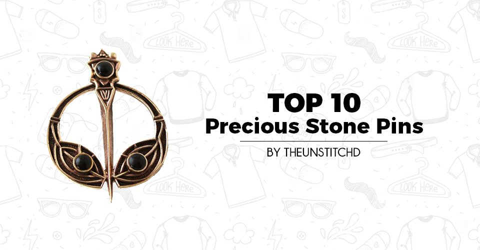 Top 10 Best Precious Stone Pins for Men