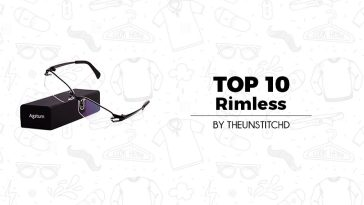 Top 10 Best Rimless Glasses/Specs for Men