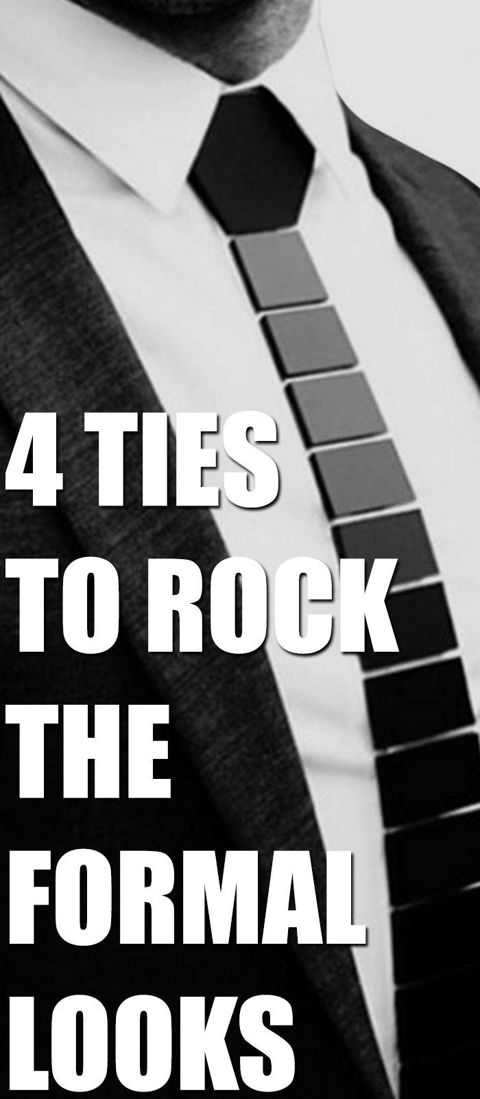 4 Ties To Rock Formal Looks