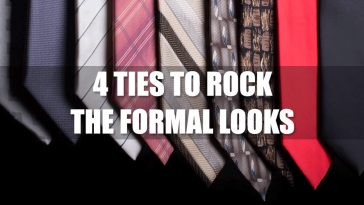 4 Ties To Rock The Formal Looks.