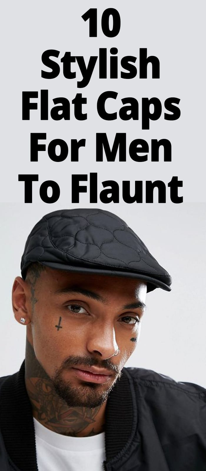 FLAT CAPS FOR MEN TO FLAUNT
