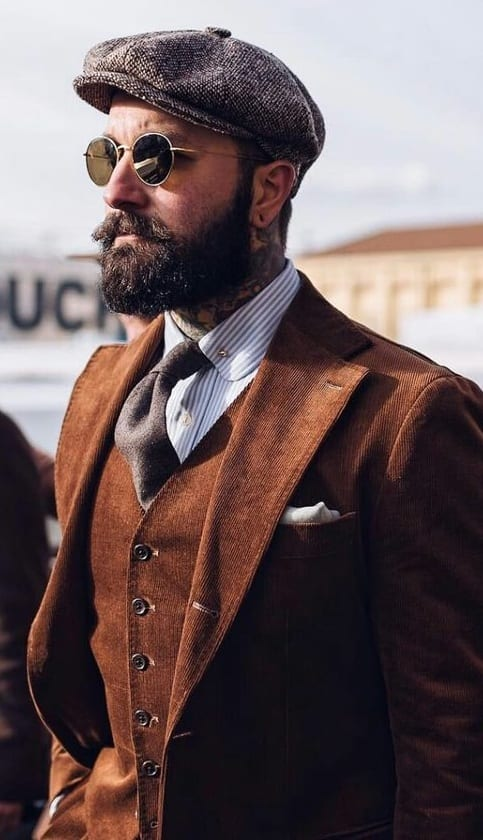 ascot caps for men