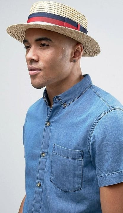 stylish boater hats for men