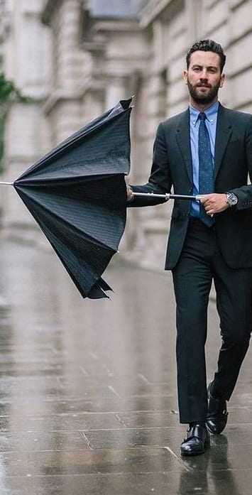 trendy single fold umbrellas