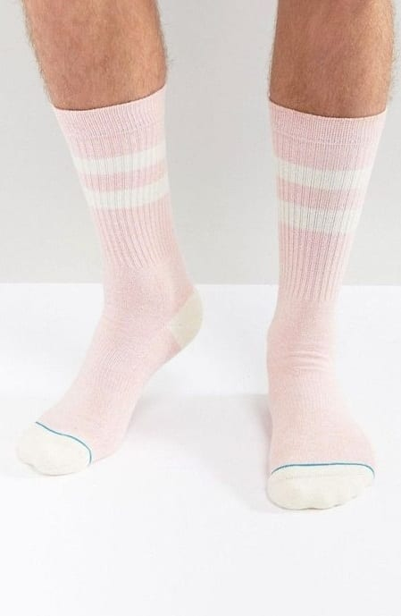 crew length socks for men