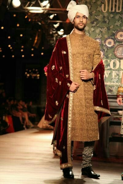 Wedding ceremony in Sherwani