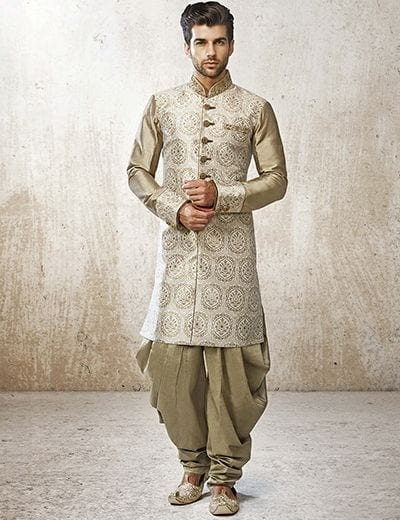 dhoti outfit for Sangeet