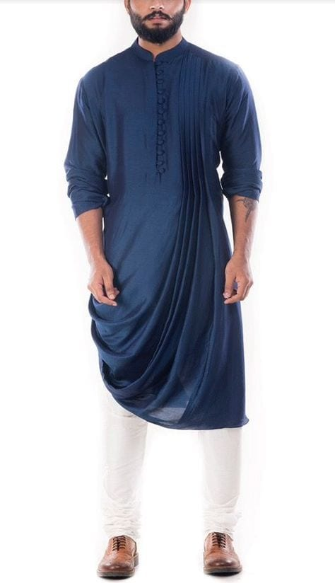 kurta and formal shoes
