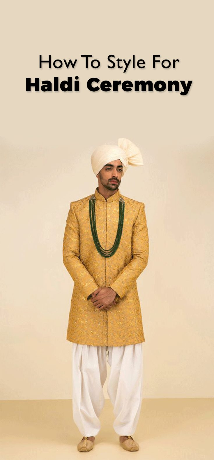 How To Decide What Should Men Wear During Haldi Ceremony