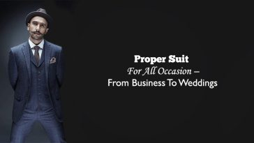 Looking Good Takes Time & Effort; So Take The Time … And Get The Perfect Suit