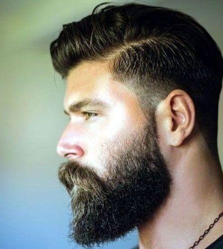 bearded fade