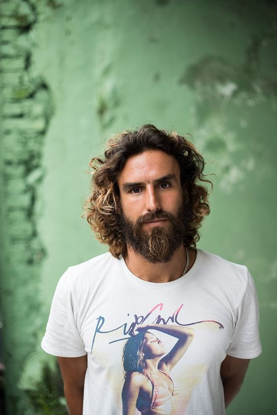 best beard and curly hairstyles