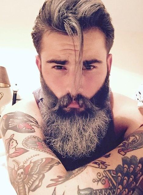 best bearded fade