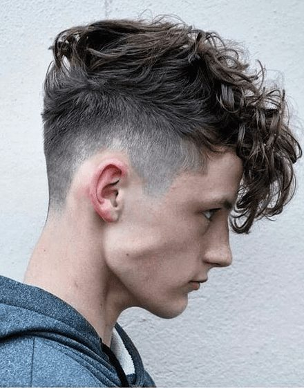 curly undercut trends