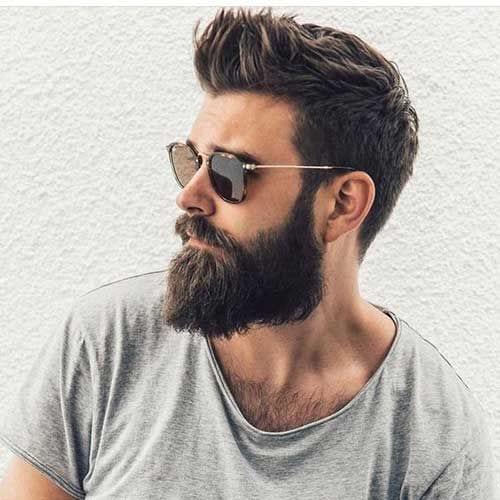 spikes with beard