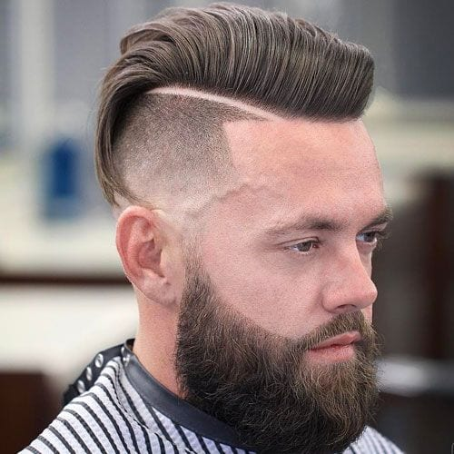undercut disconnected pompadour