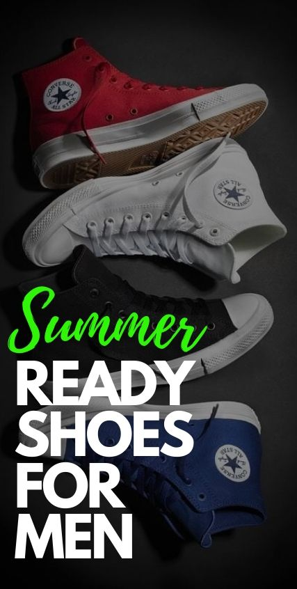 3 Summer Ready Footwear For Men