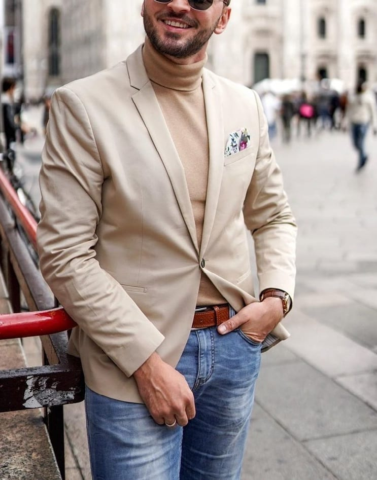 Beige- 5 Outfit Colours Light Skin Tone Men Should Avoid